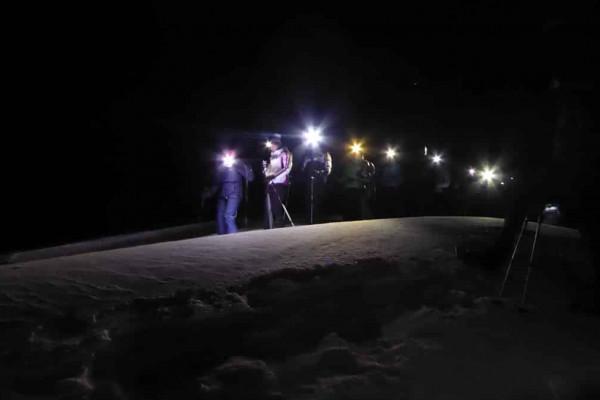 Luna piena - Rifugio Arp