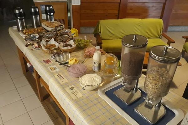 La colazione del Rifugio Arp